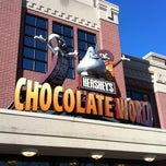 Photo taken at Hershey's Chocolate World by C.J. G. on 4/6/2012