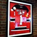 Photo taken at Brick City Coffee Co by Jesse S. on 6/2/2012