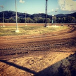 Photo taken at Portsmouth Raceway Park by Megan W. on 8/25/2012