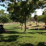 Photo taken at Pan Pacific Park by Lara on 8/19/2012