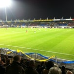 Photo taken at Mandemakers Stadion by Peter V. on 3/3/2012