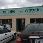 Photo taken at Ermine Vintage by Surly S. on 4/14/2012