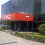 Photo taken at Coca Cola İçecek by Engin A. on 7/6/2012