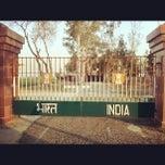 Photo taken at Wagah Border - India Pakistan Border by The Story Teller on 5/6/2012