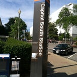 Photo taken at Capitol South Metro Station by Enoch E. on 4/29/2012