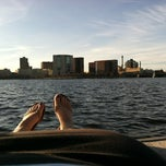Photo taken at Charles River by Martyna R. on 3/23/2012