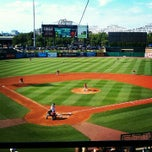Photo taken at Louisville Slugger Field by Kevin H. on 7/21/2012