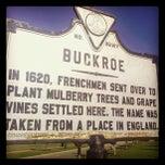 Photo taken at Buckroe Beach by Mrs. J. on 4/6/2012