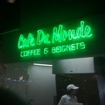 Photo taken at Café Du Monde by David Anthony Temple (. on 3/14/2012
