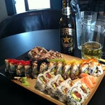 Photo taken at Spider Sushi by Kirsten on 7/24/2012