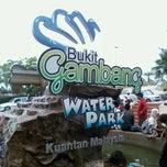Photo taken at Bukit Gambang Water Park by Nina N. on 6/30/2012