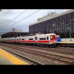 Photo taken at Metro North - Greenwich Station by Nikelii B. on 5/5/2012