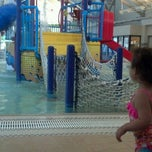 Photo taken at Silliman Family Aquatic Center by Sonja S. on 5/15/2012