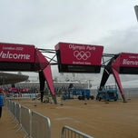 Photo taken at London 2012 Olympic Park by McLuke D. on 7/14/2012