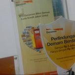 Photo taken at Bank Danamon KCP Thamrin by Risiva T. on 7/2/2012