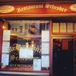 Photo taken at Restaurant Schrøder by Steinar K. on 8/3/2012