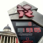 Photo taken at London 2012 OMEGA Countdown Clock by Anton N. on 7/27/2012