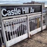 Photo taken at MTA Subway - Castle Hill Ave (6) by King-Christopher J. on 6/5/2012