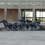 Photo taken at Mustangs of Las Colinas by David H. on 3/26/2012