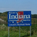 Photo taken at Ohio / Indiana - State Line by Valorie T. on 7/30/2012