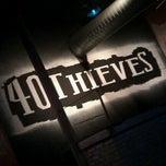 Photo taken at 40 Thieves Hookah Lounge by Daniel C. on 5/3/2012