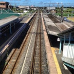 Photo taken at 八日市場駅 (Yōkaichiba Sta.) by Yoichi M. on 8/5/2012