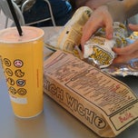 Photo taken at Which Wich? Superior Sandwiches by Comtesse D. on 9/9/2012