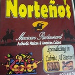 Photo taken at Los Nortenos Mexican Restaurant by Lorena A. on 5/1/2012