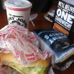 Photo taken at Jimmy John's by Kayla on 7/15/2012