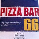 Photo taken at Pizza Bar 66 by Logan W. on 6/30/2012