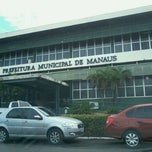 Photo taken at Prefeitura Municipal de Manaus by Fernando G. on 5/7/2012