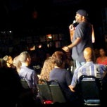 Photo taken at Stress Factory Comedy Club by Alicia I. on 8/17/2012