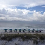 Photo taken at Destin Beach by Rachel F. on 9/8/2012