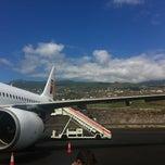 Photo taken at Aeropuerto de La Palma (SPC) by B .. on 7/8/2012