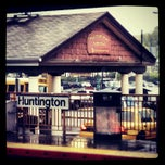 Photo taken at LIRR - Huntington Station by Wyatt S. on 5/1/2012