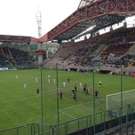 Photo taken at Stadio Nereo Rocco by Nicola G. on 4/7/2012