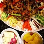 Photo taken at Chef Yu - Yuyu Za Zang by Timothy M. on 3/24/2012