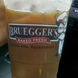 Photo taken at Bruegger's Bagels by Allie on 6/20/2012