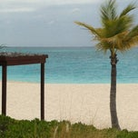 Photo taken at Club Med private beach by Allen on 4/25/2012