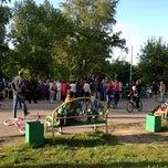 Photo taken at Пятак by Sveta on 5/24/2012