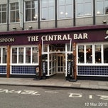 Photo taken at The Central Bar (Wetherspoon) by Roger N. on 3/12/2012