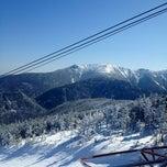 Photo taken at Cannon Mountain Ski Area by Mark A. on 3/12/2012