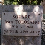 Photo taken at Square Jean Tolosano by Giovanni d. on 4/1/2012