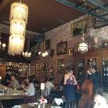 Photo taken at Antique Garage Restaurant by Ashley R. on 4/15/2012