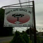 Photo taken at Vinny's Auto Services by Jay S. on 4/18/2012