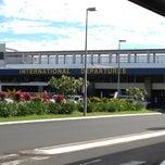 Photo taken at Nadi International Airport (NAN) by Shimmery P. on 6/19/2012