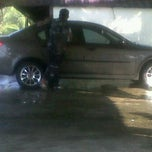 Photo taken at Aji Car Wash by intanmaria a. on 4/8/2012