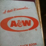 Photo taken at A&W Restaurant by Chris P. on 6/23/2012