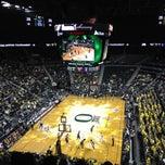 Photo taken at Matthew Knight Arena by Katrina D. on 3/14/2012