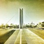 Photo taken at Soleri Bridge & Plaza by 💋Jelena💋 on 6/14/2012